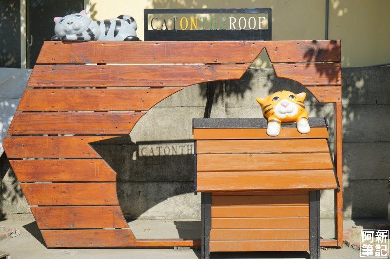 虎尾屋頂上的貓-25