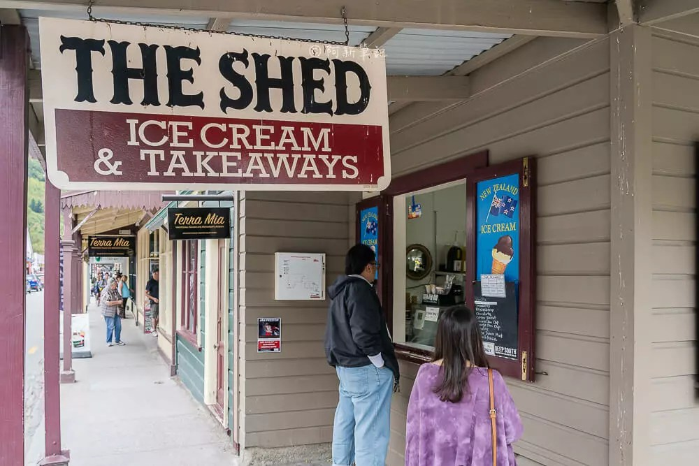 The Shed Ice Cream,箭鎮冰淇淋,箭鎮美食,箭鎮下午茶,紐西蘭旅遊,紐西蘭自助,紐西蘭自由行