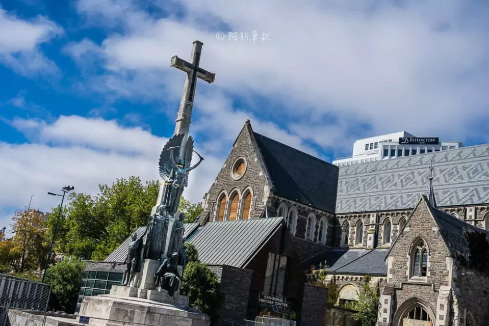 christchurch cathedral,基督堂座堂,紐西蘭基督堂座堂,基督城基督堂座堂,基督城大教堂,紐西蘭自由行,基督城景點