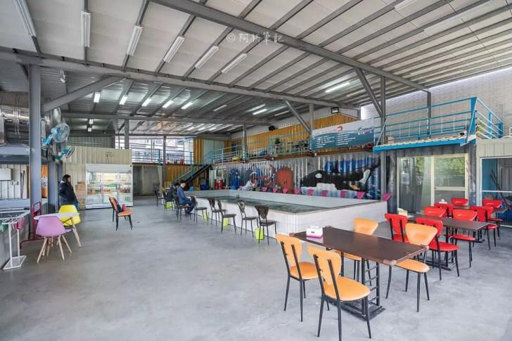 DSC04261 - 熱血採訪│台中釣蝦場2.0升級,有親子遊戲室、餐廳區,更是禁菸的鴻里釣蝦場,假日悠閒首選!
