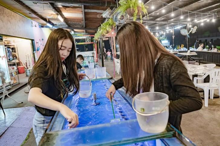 DSC07190 - 熱血採訪│營業到凌晨兩點,台中這間夜景餐廳提供撈魚、打卡牆及遊戲區!