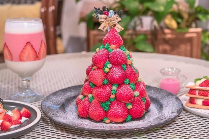 DSC04373 - 熱血採訪│這裏勿瘋!台中超浮誇草莓瘋了!整個草莓堆成山高的,根本是聖誕樹,偷偷說還有正妹!(已歇業)