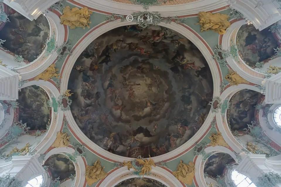 瑞士聖加侖修道院,聖加侖修道院,聖加侖修道院書院,聖加侖修道院圖書館,聖加侖圖書館-11