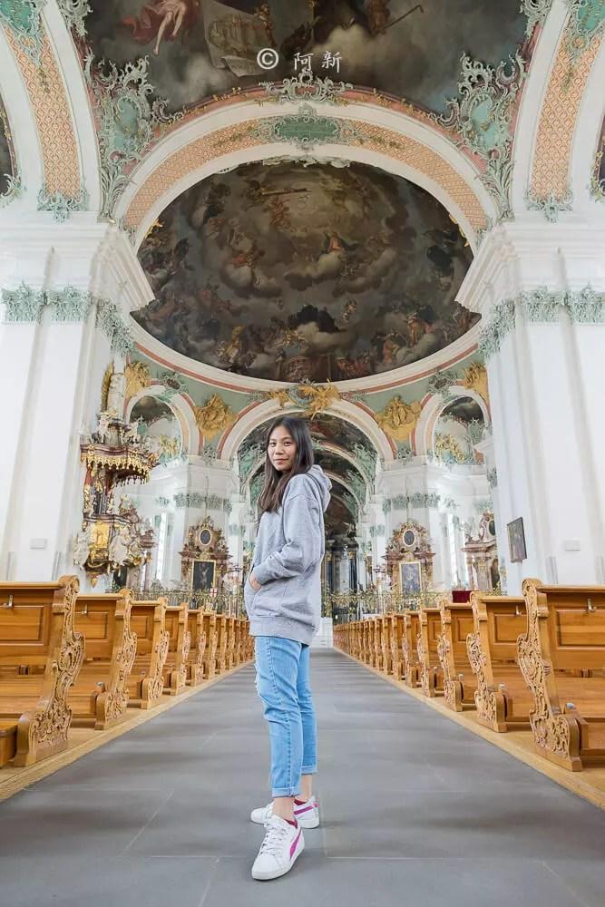 瑞士聖加侖修道院,聖加侖修道院,聖加侖修道院書院,聖加侖修道院圖書館,聖加侖圖書館-14