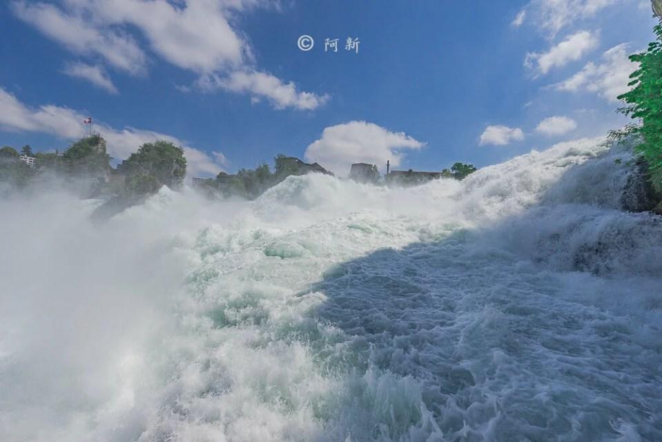 瑞士萊茵瀑布,萊茵瀑布,歐洲最大瀑布,瑞士旅遊,瑞士-22