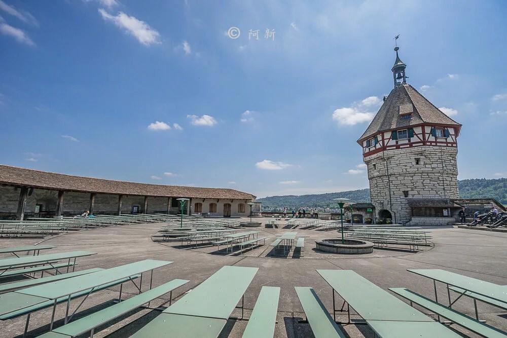 米諾要塞,沙夫豪森米諾要塞,Munot堡壘,梅諾城堡,梅諾要塞,瑞士旅遊景點-32