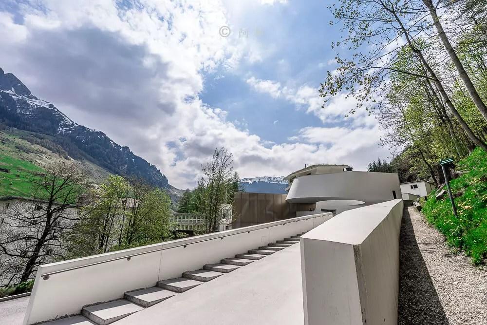 瑞士瓦爾斯溫泉浴場therme