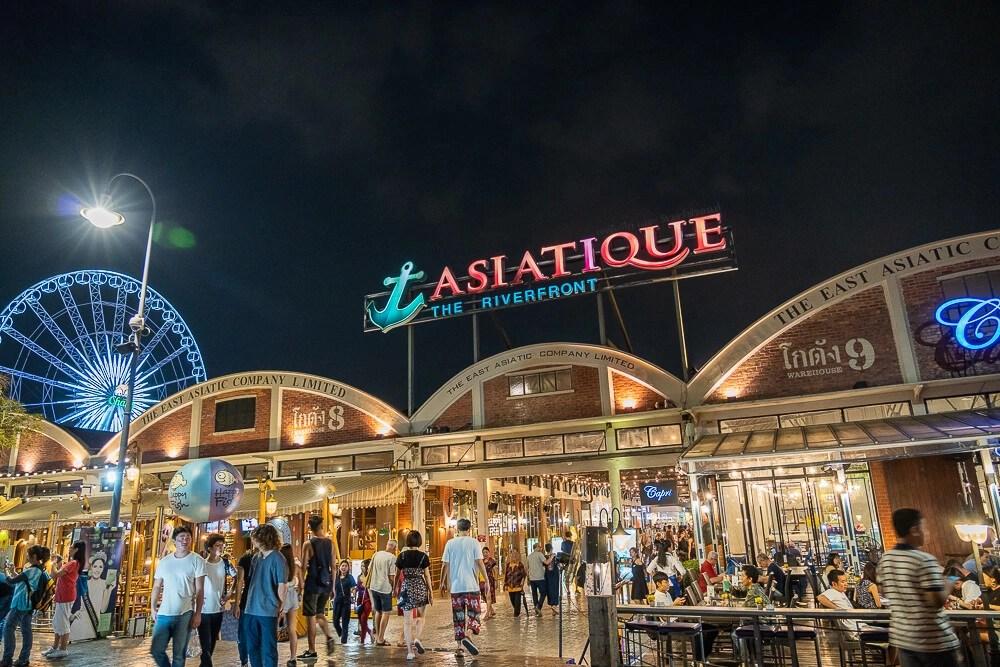 Asiatique河濱碼頭夜市