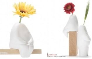 [器皿設計]孤獨小人花瓶
