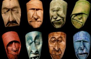 [極致工藝]衛生紙捲筒臉譜藝術