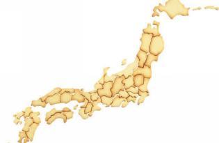 [廚具設計]日本地圖餅乾模具組
