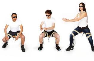 [家具設計]肌肉結構隱形椅