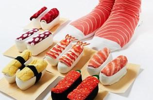 [產品設計]趣味惡搞壽司襪