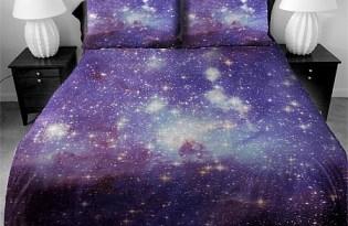 [床罩設計]超夢幻的銀河系床單