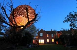 [裝置藝術]在家前院打造的人造鳥巢
