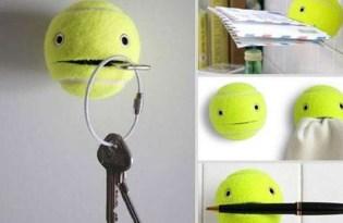 [創意設計]讓壞掉的網球重生