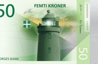 [平面設計]挪威中央銀行鈔票設計獲選作品