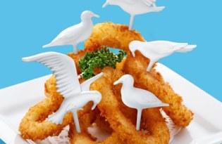 [餐具設計]海鷗造型食用水果叉