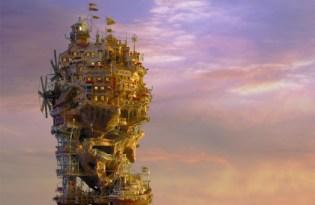 [裝置藝術]幻想樹屋盆栽設計「Bonsai Tree House」