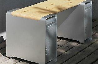 [工業設計]經典蘋果3C產品改造時尚家具