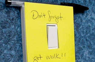 [文具設計]防呆插座便利貼