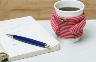 [創意設計]可愛的暖暖紙杯保溫套