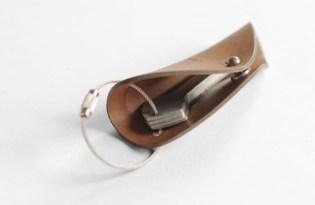 [產品設計]內斂質感皮革鑰匙包