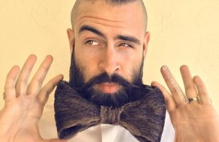 [創意藝術]不可思議的鬍子先生Mr. Incredibeard