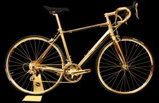 [交通設計]捷安特Defy 3「24K金自行車」