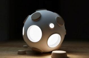 [燈飾家具]Constantin Bolimond月球燈