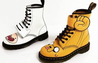 [產品設計]探險活寶Adventure Time系列靴子