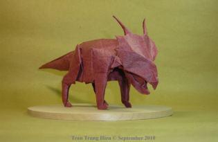 [極致工藝]恐龍摺紙藝術