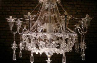 [燈飾設計]回收寶特瓶奢華吊燈