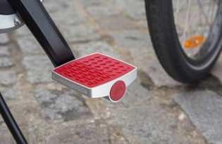 [產品設計]防盜智慧腳踏板「the Connected Pedal」