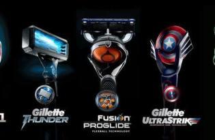 [產品設計]Gillette復仇者聯盟概念款刮鬍刀