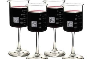 [器皿設計]德克斯特的燒杯造型紅酒杯