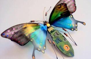 [文創工藝]電子零件設計「金屬昆蟲」