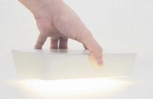 [燈飾設計]清水模磚塊桌燈