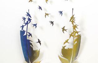 [平面設計]羽翼之美視覺藝術
