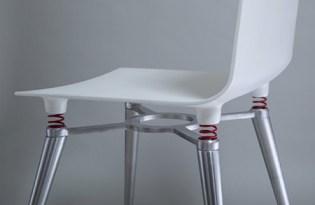 [家具設計]彈簧避震椅