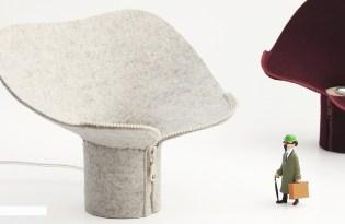 [產品設計]衣領檯燈DITA