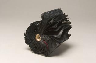 [工藝設計]火燒炭化紙雕藝術