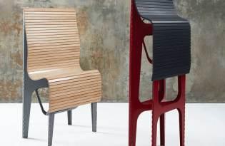 [家具設計]Ollie竹蓆折疊椅
