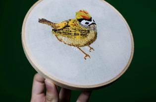 [設計工藝]Project垃圾回收刺繡藝術