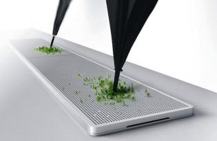 [產品設計]綠色植栽雨傘座