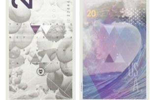 [平面設計]美金鈔票視覺藝術