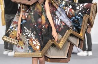 [時尚設計]Viktor & Rolf藝術畫框服裝秀