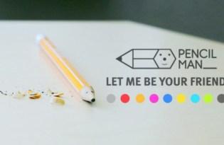 [文創設計]微笑趣味鉛筆