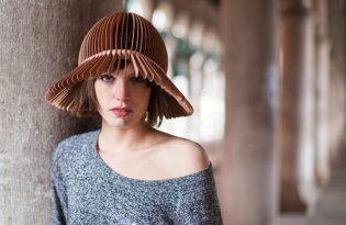 [設計工藝]wooden-headwear摺紙帽