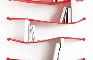 [家具設計]矽膠軟質書架